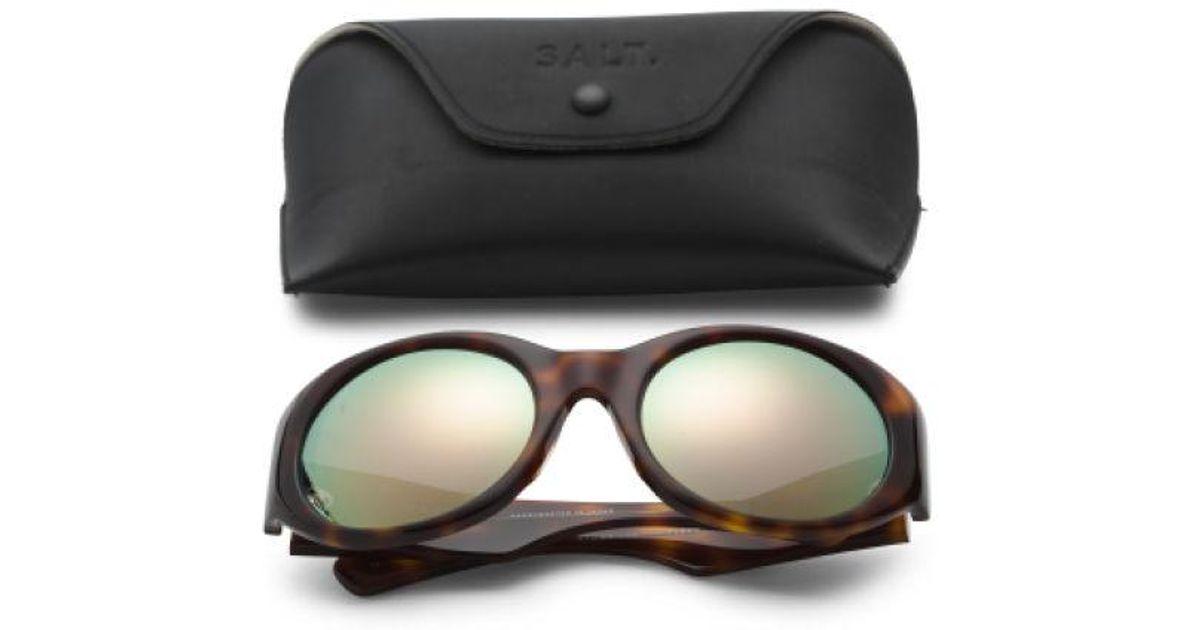950accf80c26c Tj Maxx Made In Japan Fleckman Polarized Sunglasses in Black - Lyst