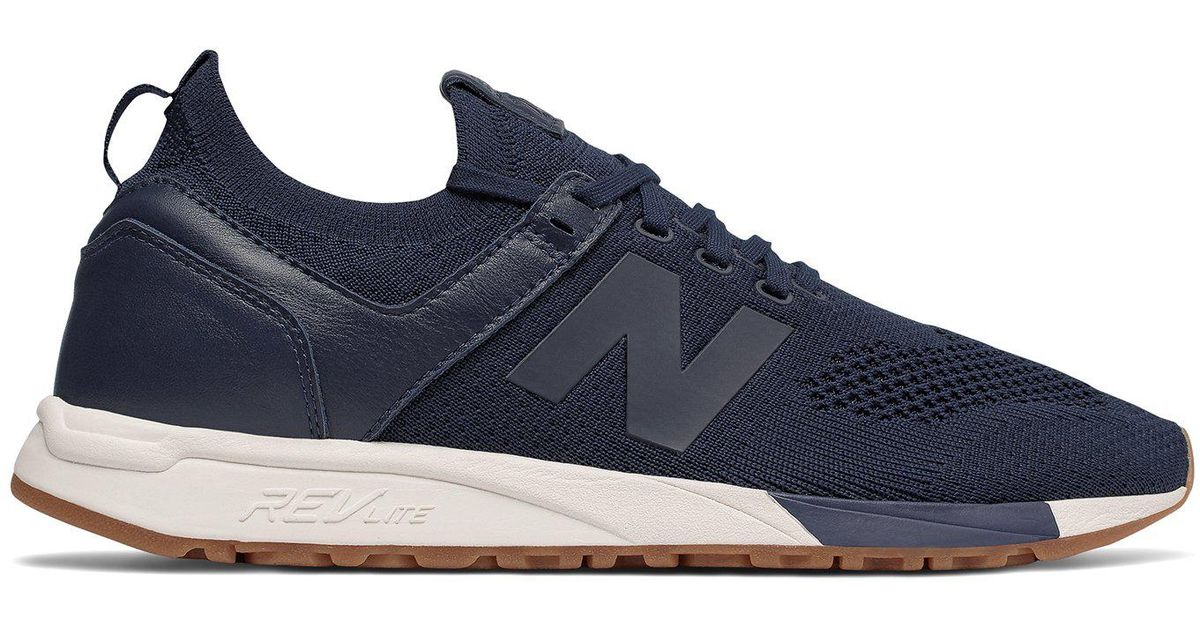 New Balance Blue 247 Deconstructed In Navy for men