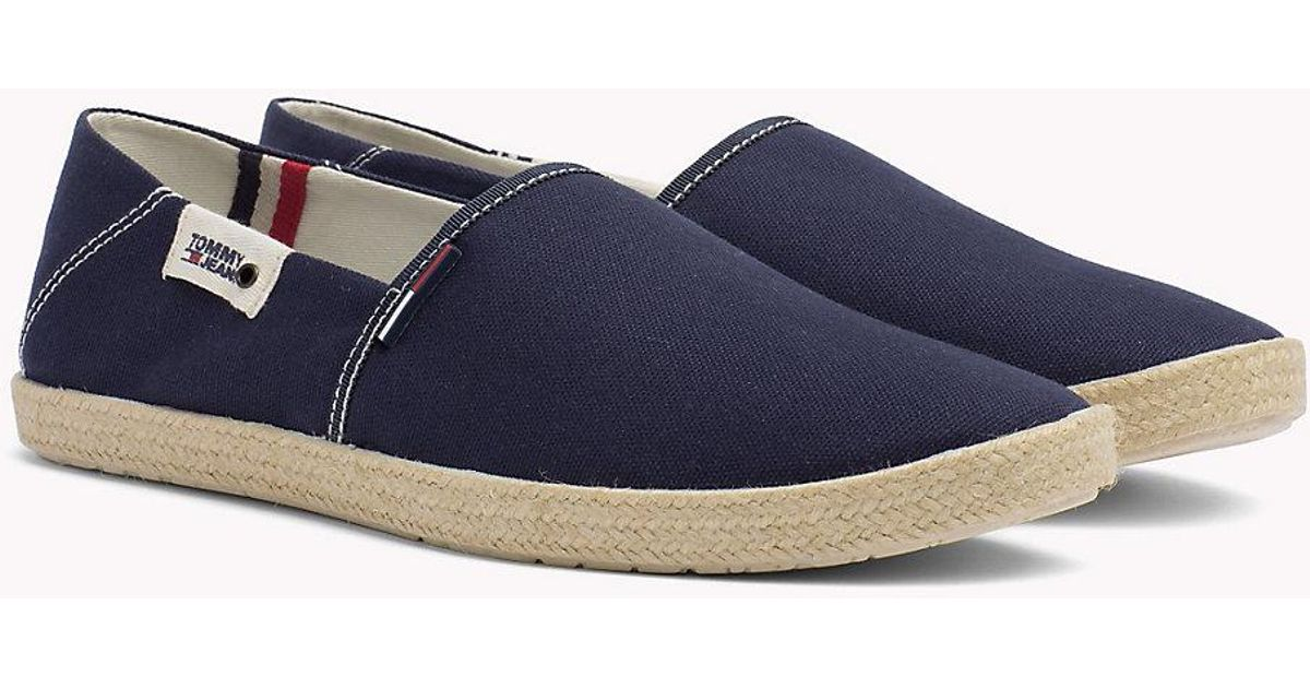 53d95c91b9f45a Tommy Hilfiger Colour-blocked Espadrille Shoes in Blue for Men - Lyst