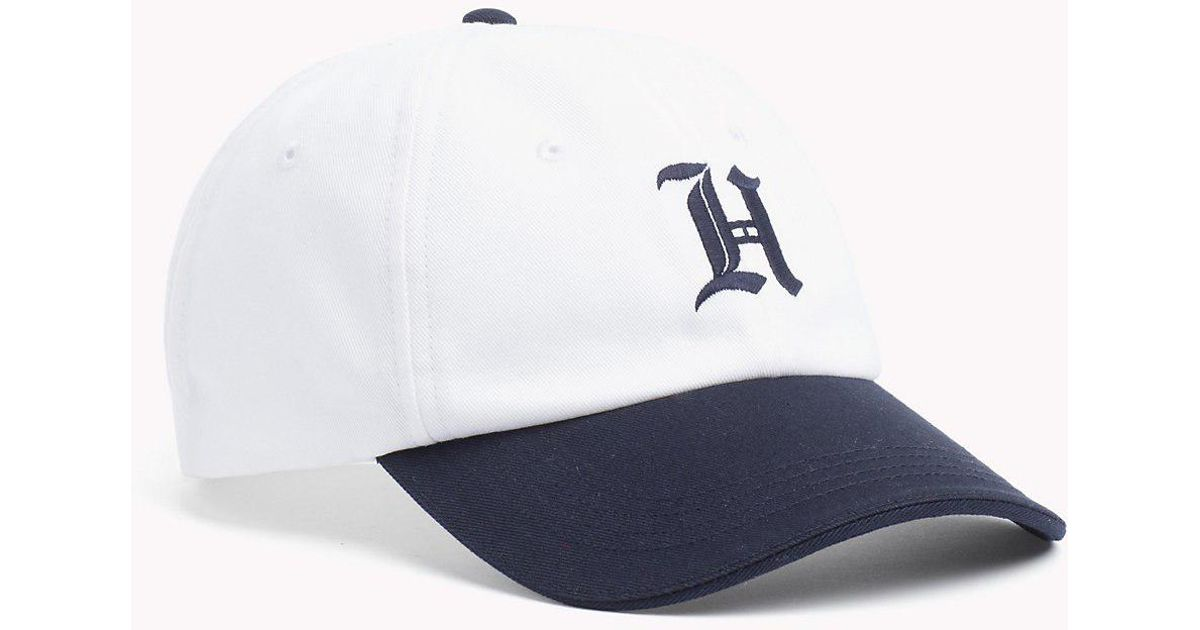 620697376aaf0d Tommy Hilfiger Lewis Hamilton Baseball Cap in White for Men - Lyst