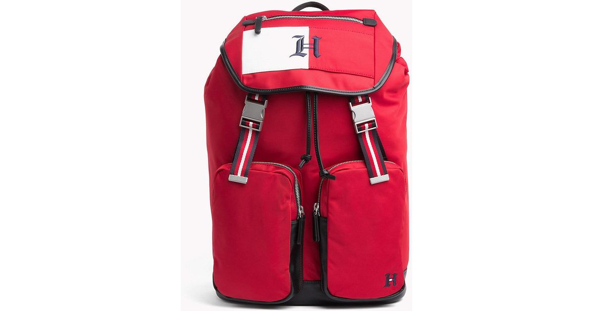 251ab78f Tommy Hilfiger Lewis Hamilton Backpack in Red for Men - Lyst