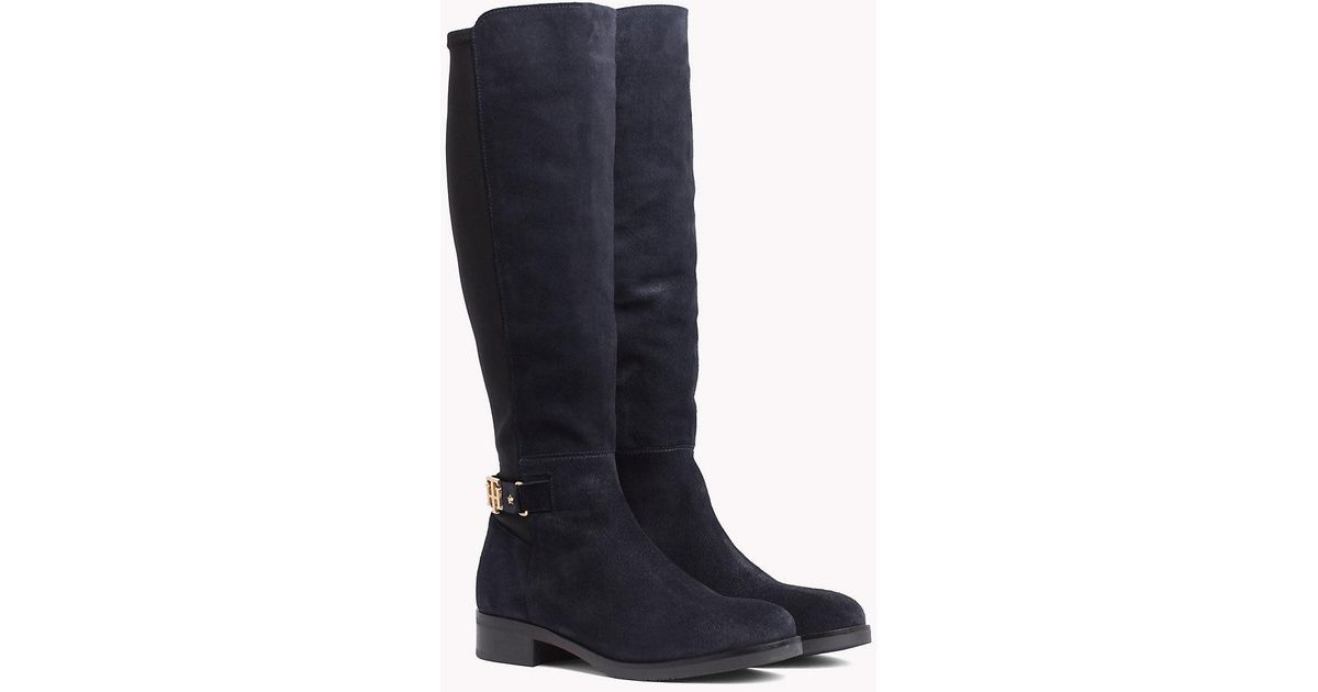 Tommy Stretch Hilfiger Th Buckle Bootie BCoxed