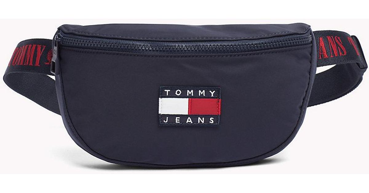82b19d06 Tommy Hilfiger Crossover Waist Bag in Blue - Lyst