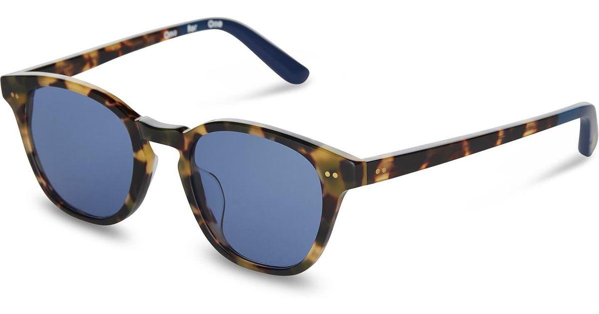c7d5c15430f Lyst - TOMS Wyatt Blonde Tortoise in Blue for Men