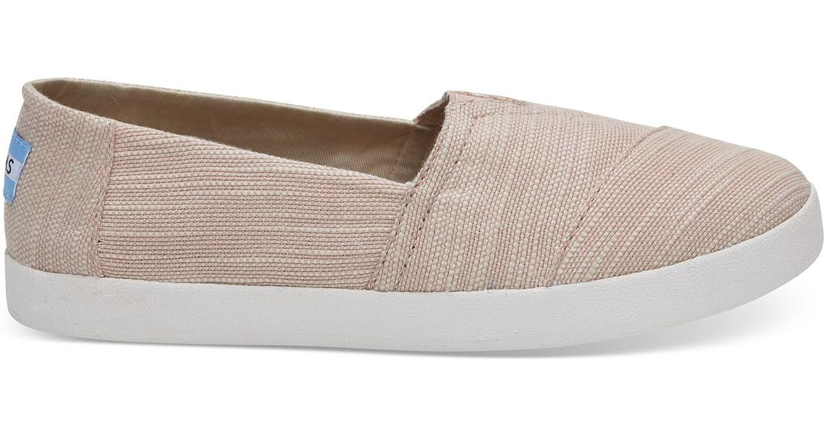 87138cb6778 Toms Soft Pink Cotton Women s Avalon for Men - Lyst