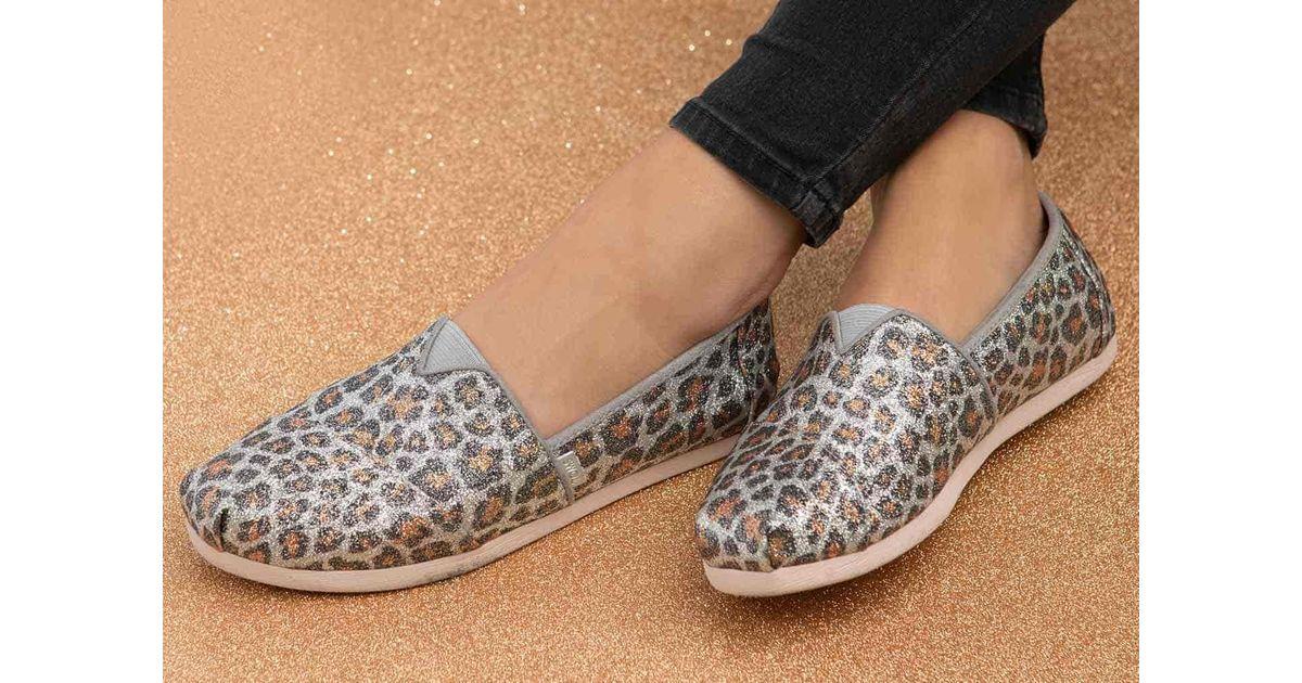 TOMS Glitter Cheetah Print Women's