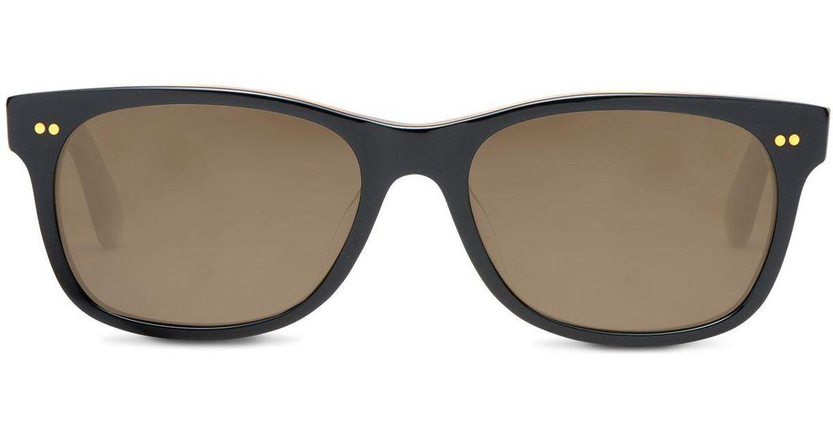 481ce3db57 Lyst - TOMS Beachmaster 301 Matte Black Zeiss Polarized in Black for Men