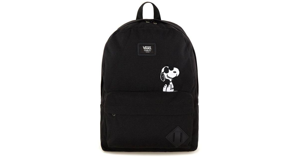 Skool Vans Black X Peanuts Old Backpack Topman Men For N8wO0vmn