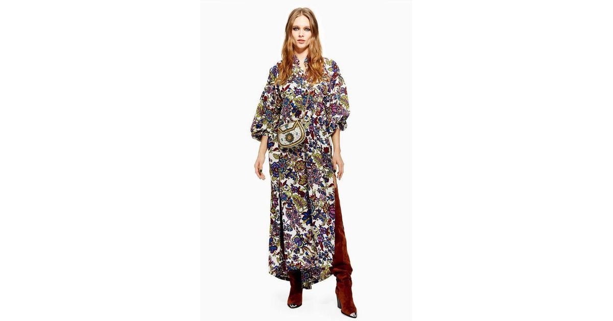 numerousinvariety later cute cheap TOPSHOP White Mixed Floral Maxi Dress