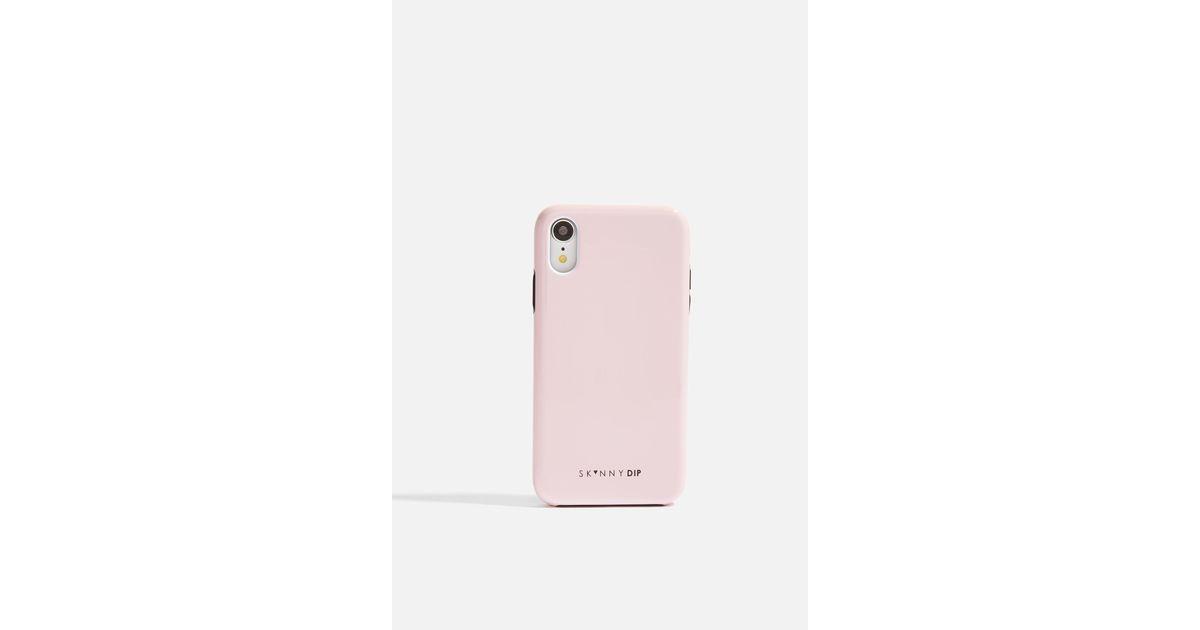 coque iphone xr skinny dip