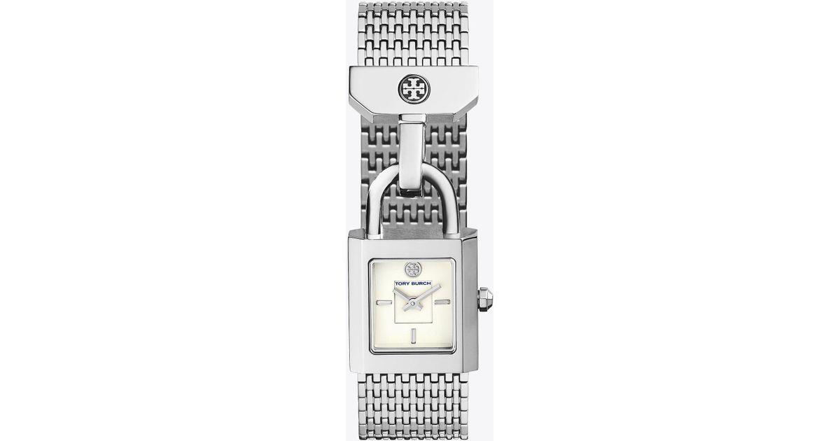b021026d13c Lyst - Tory Burch Surrey Watch
