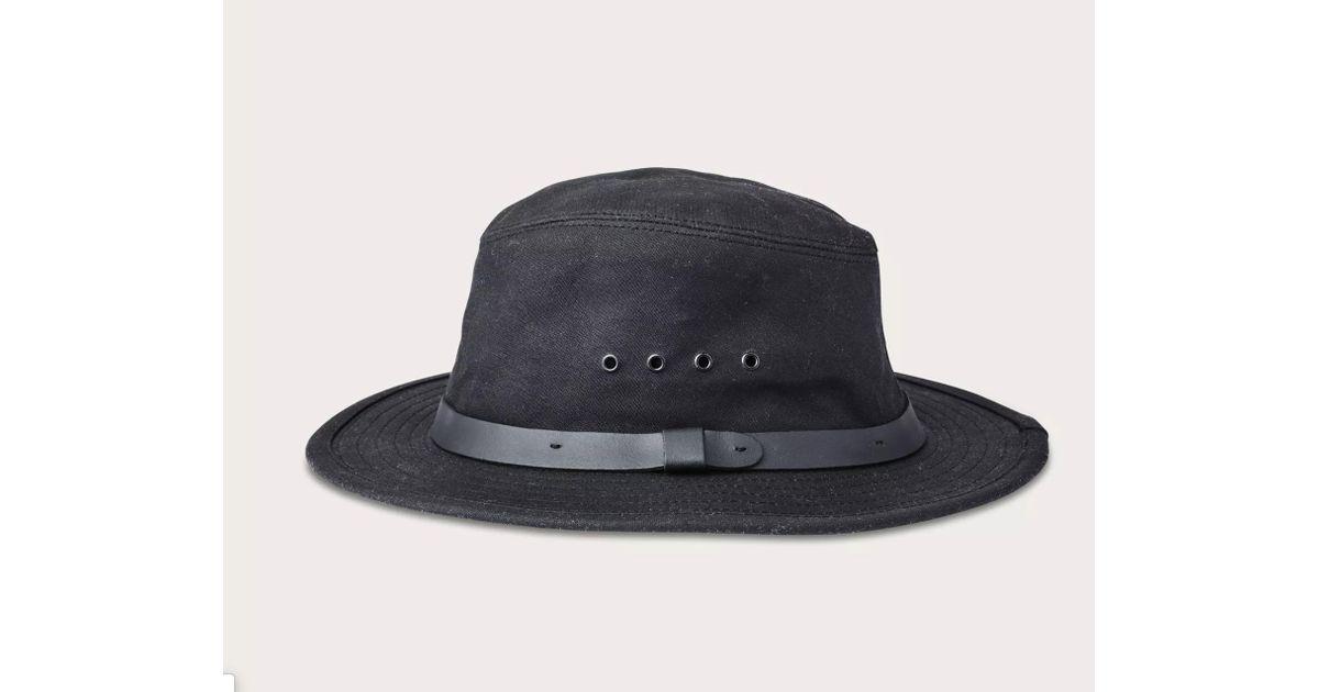 bf76dbd21 Lyst - Totem Brand Co. Filson Tin Cloth Packer Hat for Men