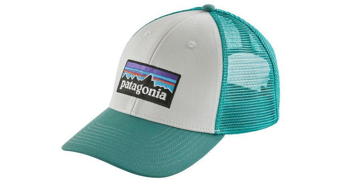 854e6c63b Patagonia Blue P-6 Lopro Trucker Hat for men
