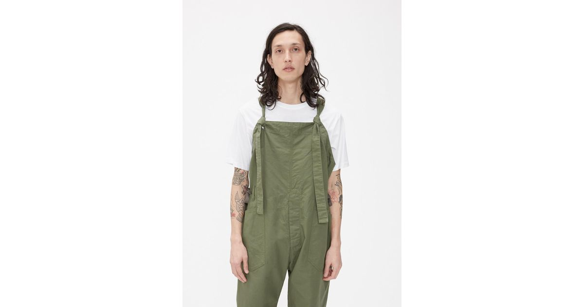 Engineered Garments Cotton Overalls in Olive (Green) for ...https://www.lyst.com › clothing › engineered-garments-overalls-7 engineered garments overalls