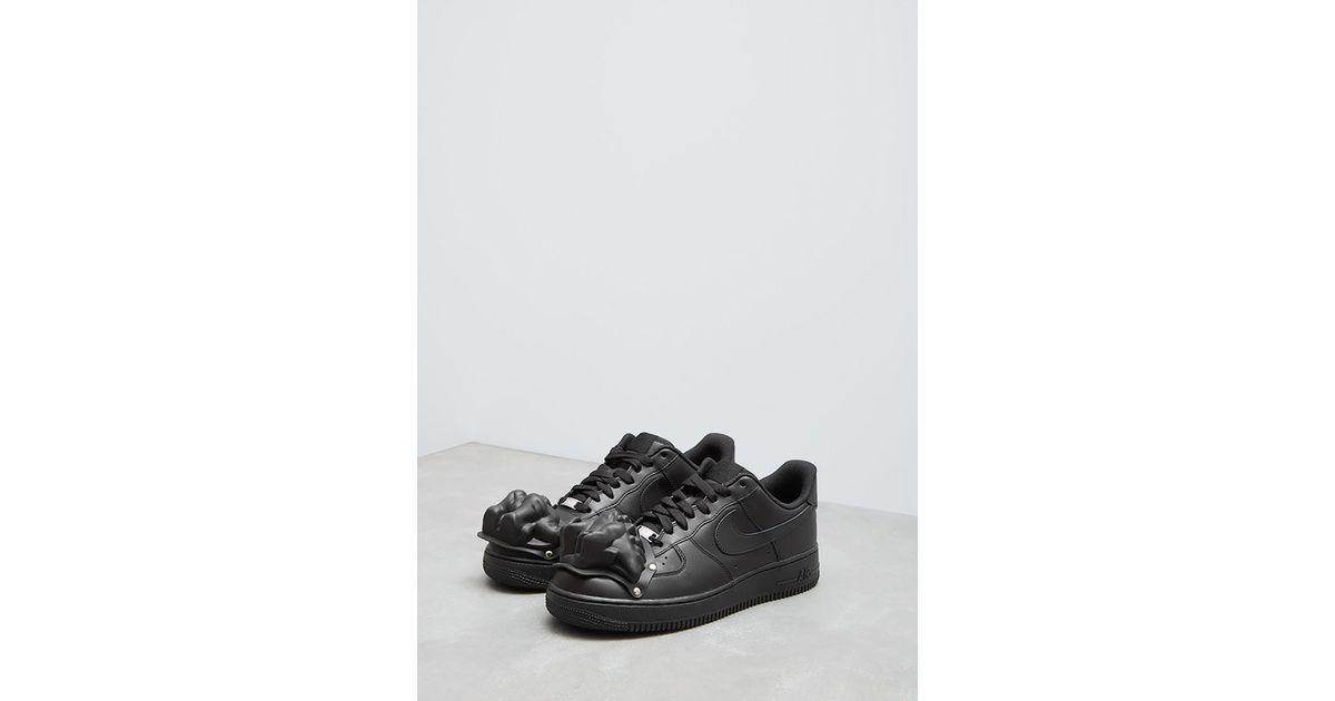 Black Nike Custom Garçons Force 1 Men Des Cdg Comme For Sneaker Air uPXOikZ