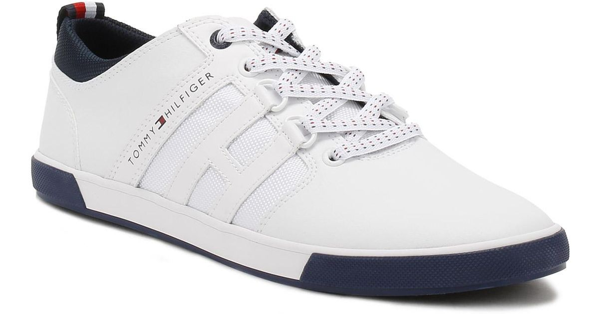 62543a9b11cdea Tommy Hilfiger Mens White Milton 1a Trainers in White for Men - Lyst