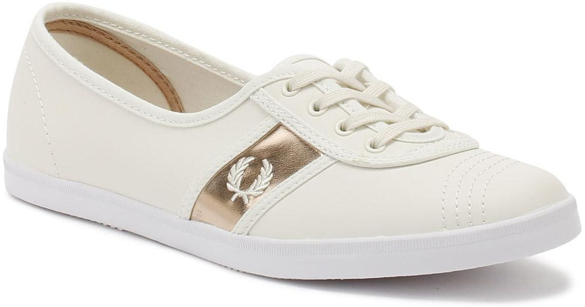 Fred Perry Womens Porcelain Beige