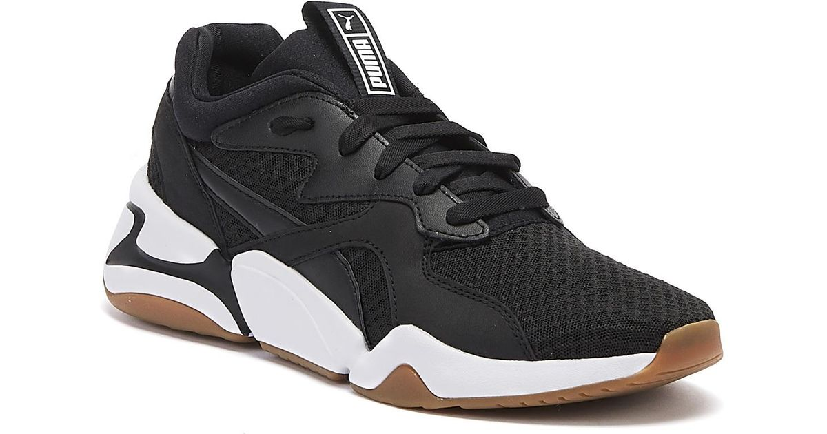 PUMA Nova 90s Bloc Womens Black Trainers