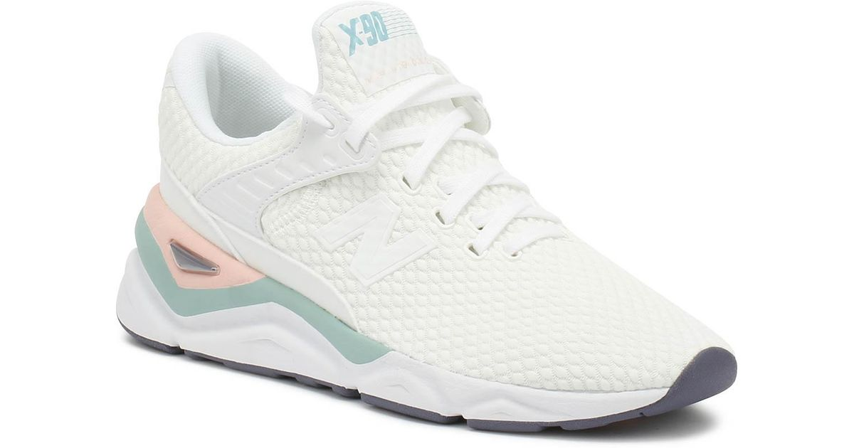 Womens X90 White Sport Trainers - Lyst