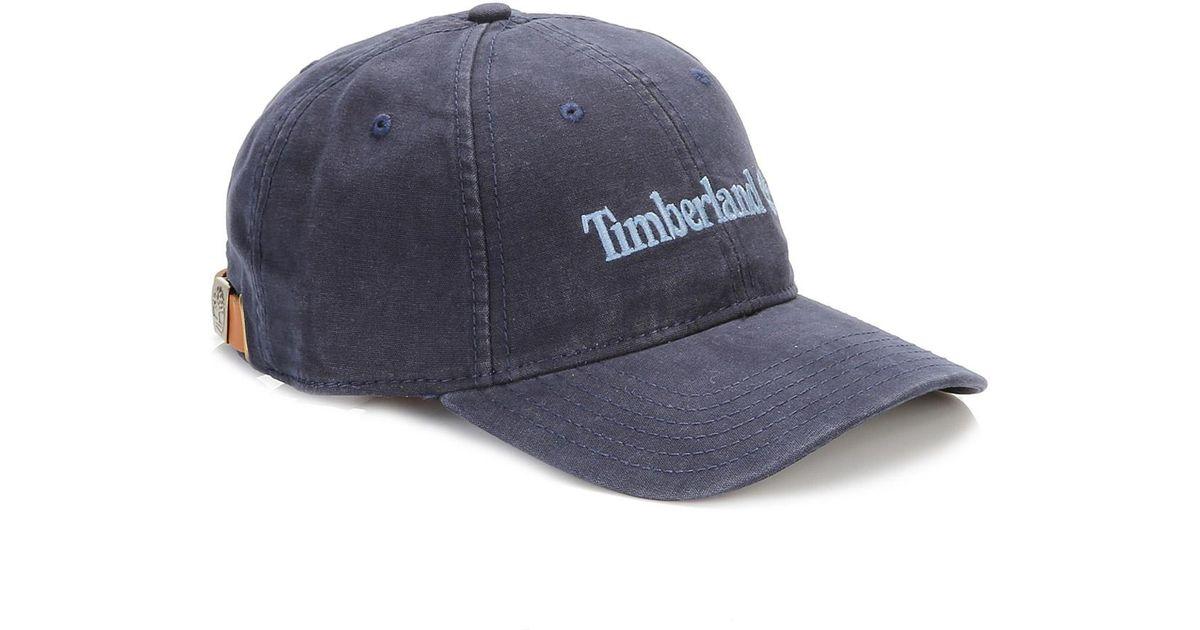 Timberland Black Iris 6 Panel Baseball Cap in Black for Men - Lyst 3afd8b045ce