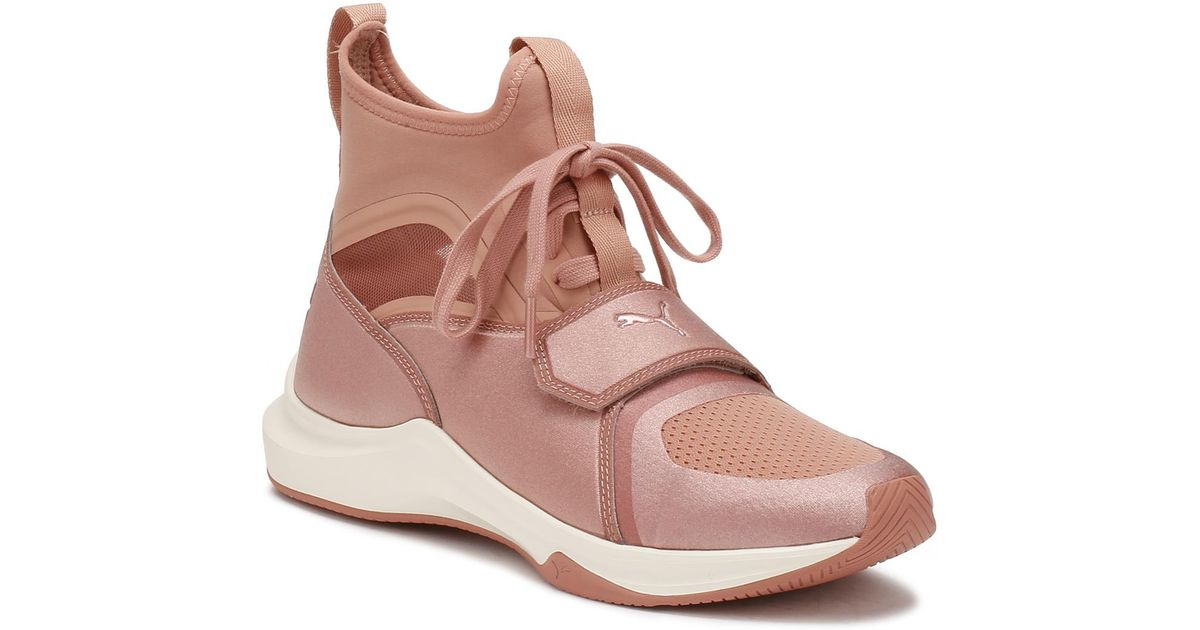 PUMA Womens Selena Gomez Pink Phenom Trainers Women's Shoes (high-top  Trainers) In Pink