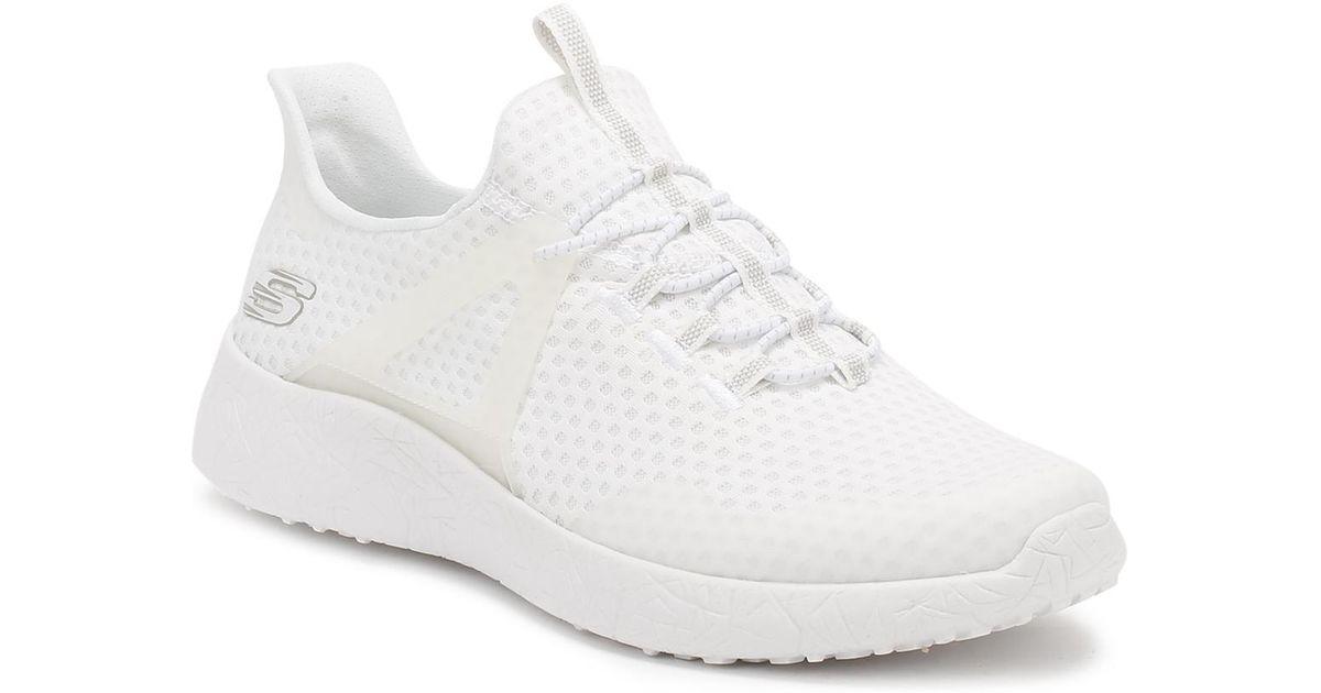 Lyst - Skechers Mens White Burst Shinz Trainers in White for Men 6af827c076b1