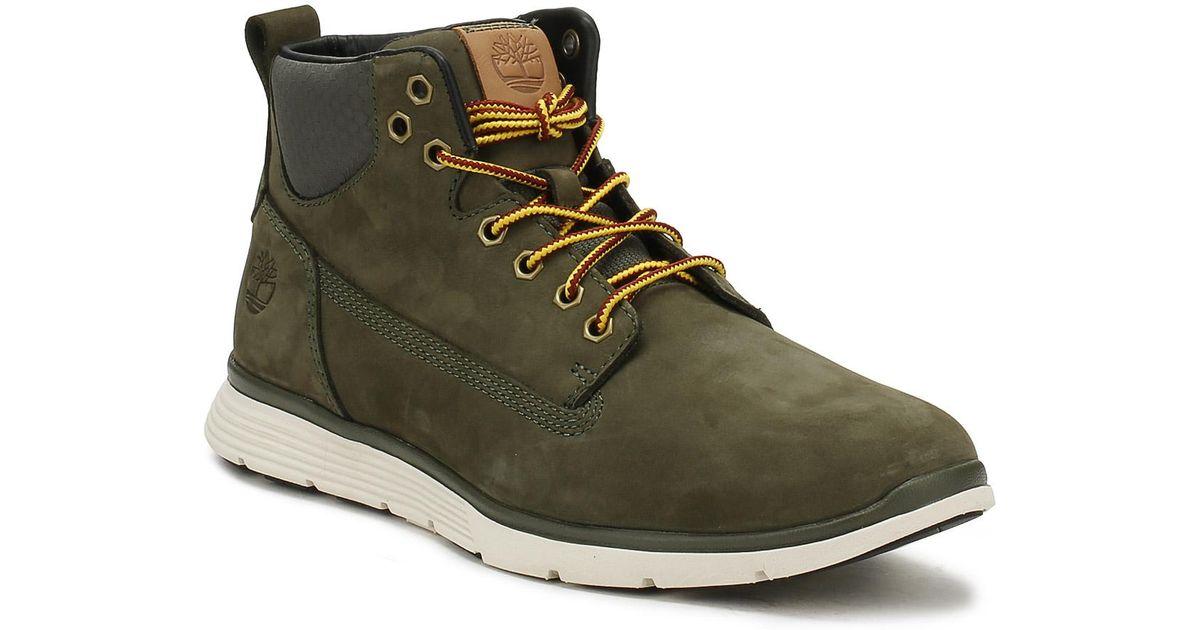 dc10fe7db86 Timberland Mens Grape Leaf Green Killington Chukka Boots for men