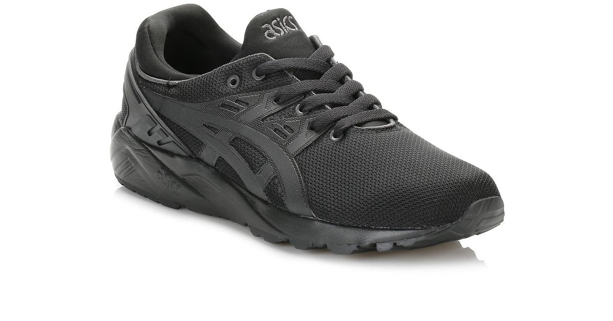 official photos d3998 c3174 Asics Black Gel-lyte Kayano Evo Trainers
