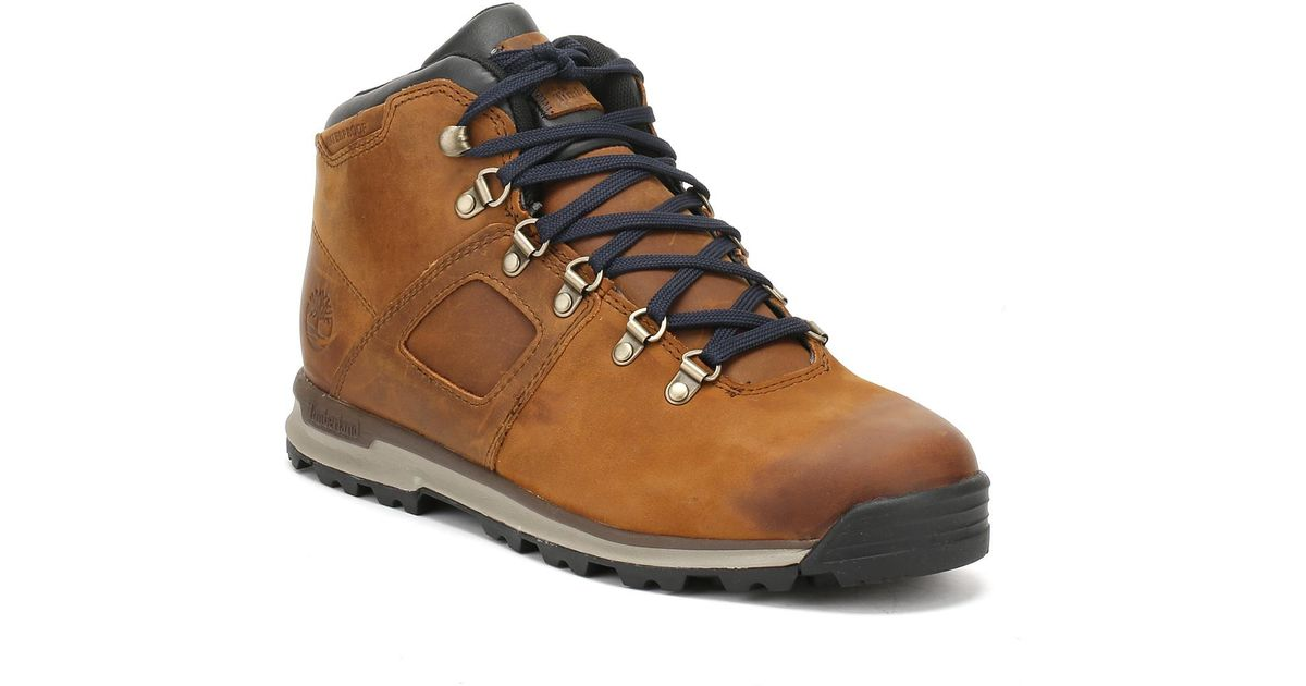 Gt In Mens For Scramble Brown Boots Timberland Navy Lyst Men rhtCQdsxB