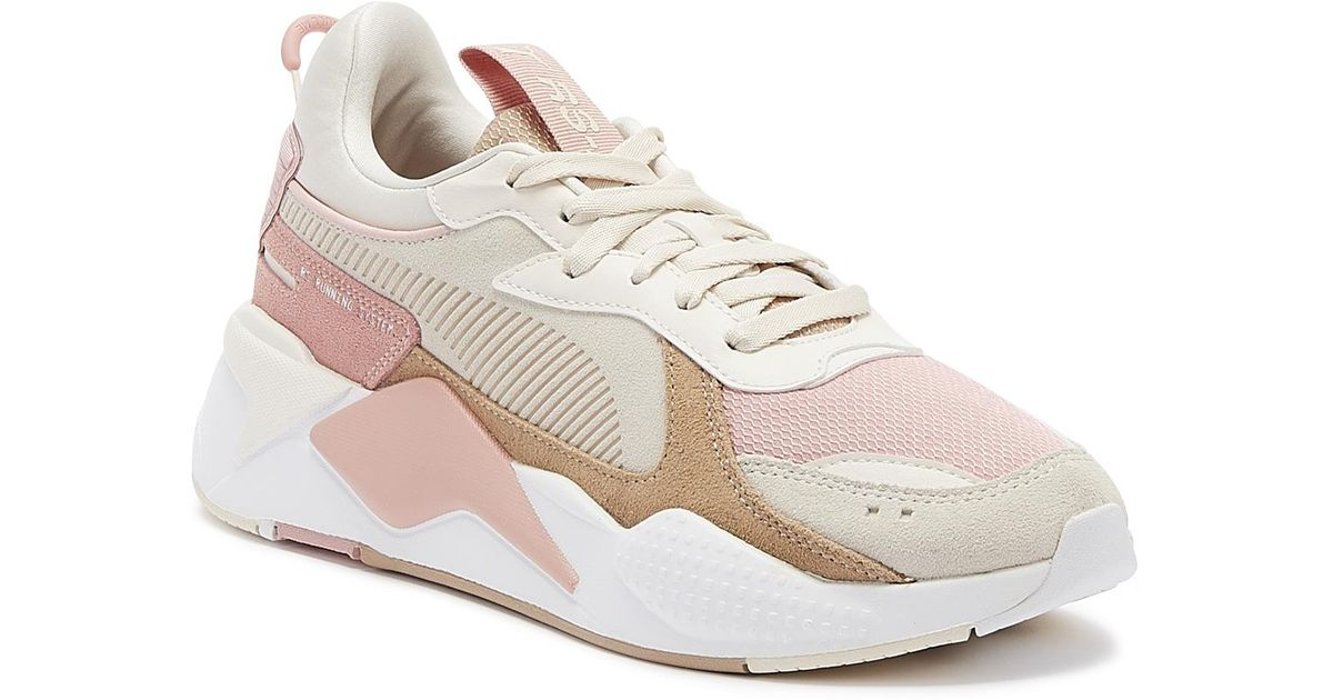 PUMA Pink Rs-x Reinvent S Bridal Rose Trainers