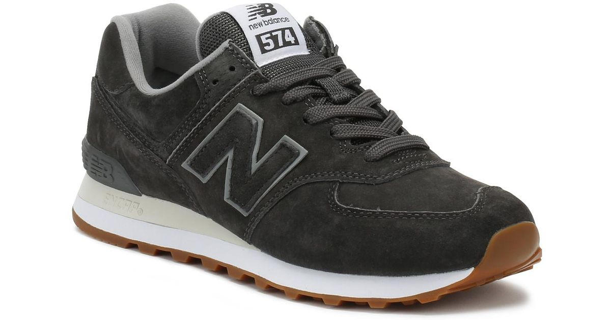 new product d9146 8406f New Balance Mens Castlerock Grey 574 Classic Trainers in Gray for Men - Lyst
