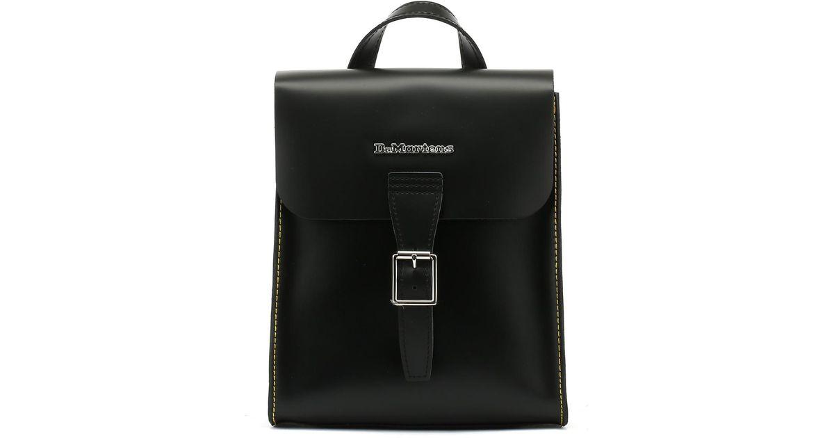 27f38b4320 Dr. Martens Dr. Martens Black Kiev Leather Mini Backpack in Black - Lyst