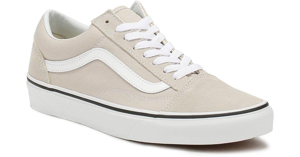 Vans Suede Silver Lining / True White