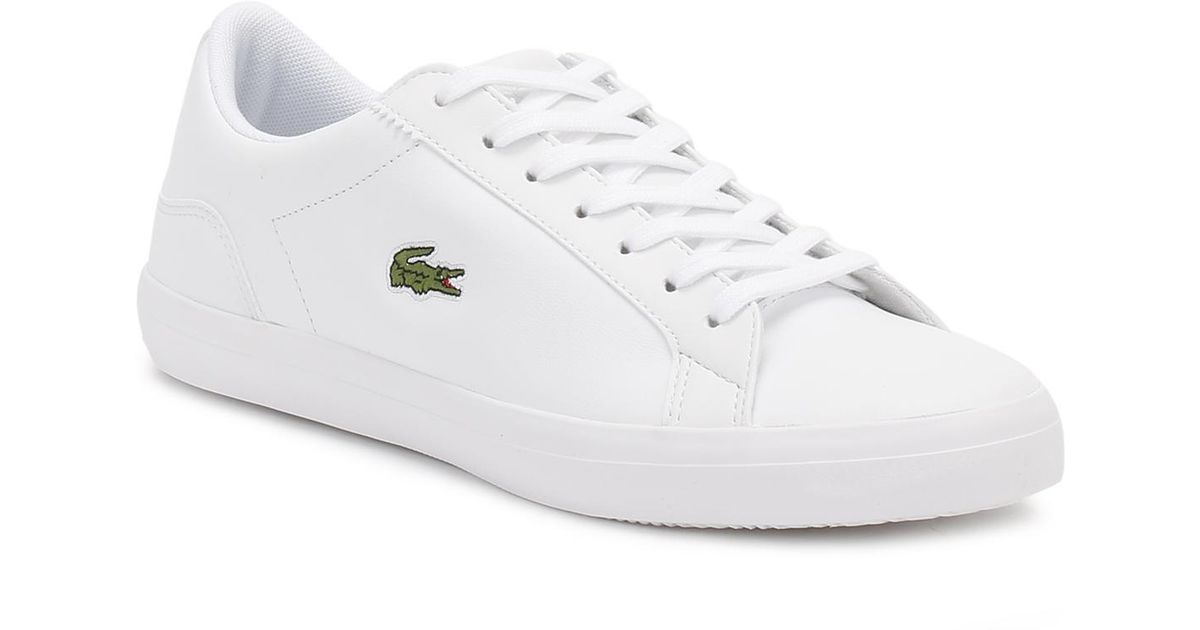 lacoste shoes white mens - 63% OFF