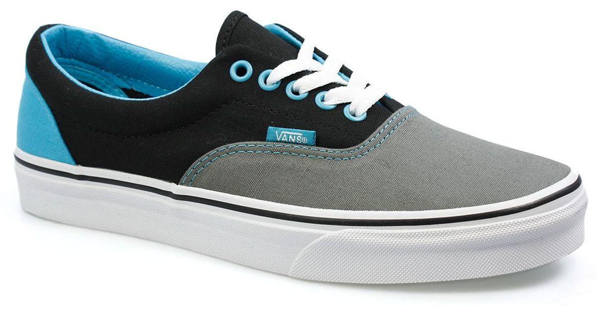vans blue gray