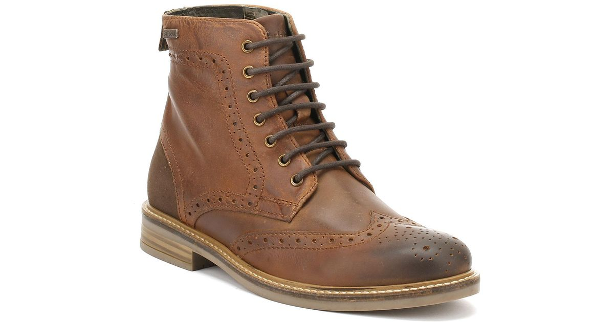 e88e2c0d10a Barbour Brown Belsay Mens Boots for men