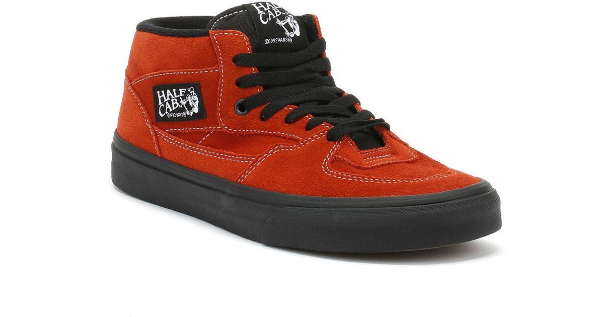 Vans Suede Mens Bossa Nova Red / Black