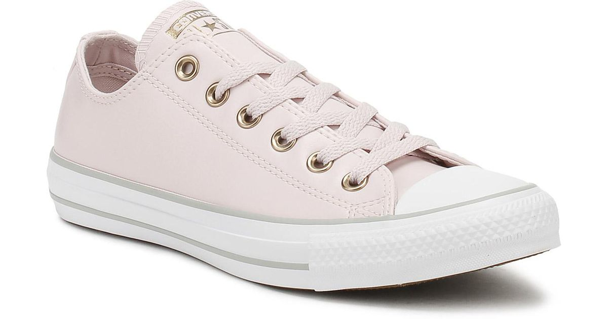 Converse Chuck Taylor All Star Womens Barely Rose Ox Trainers - Lyst 50aca277e
