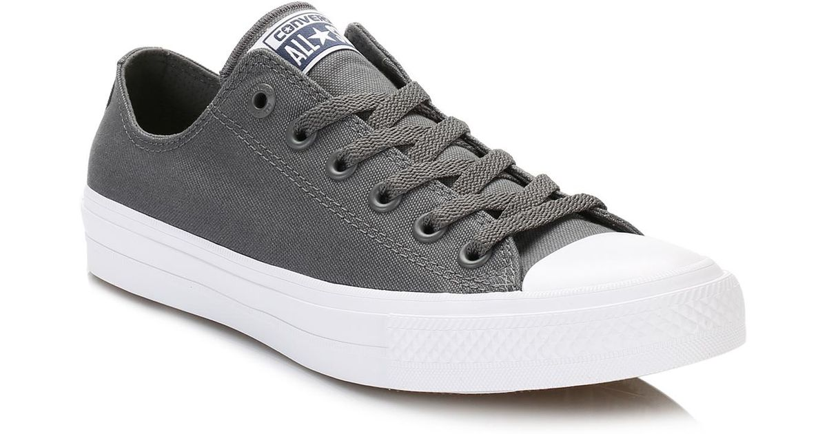 Converse Gray All Star Grey Chuck Taylor Ii Thunder Trainers