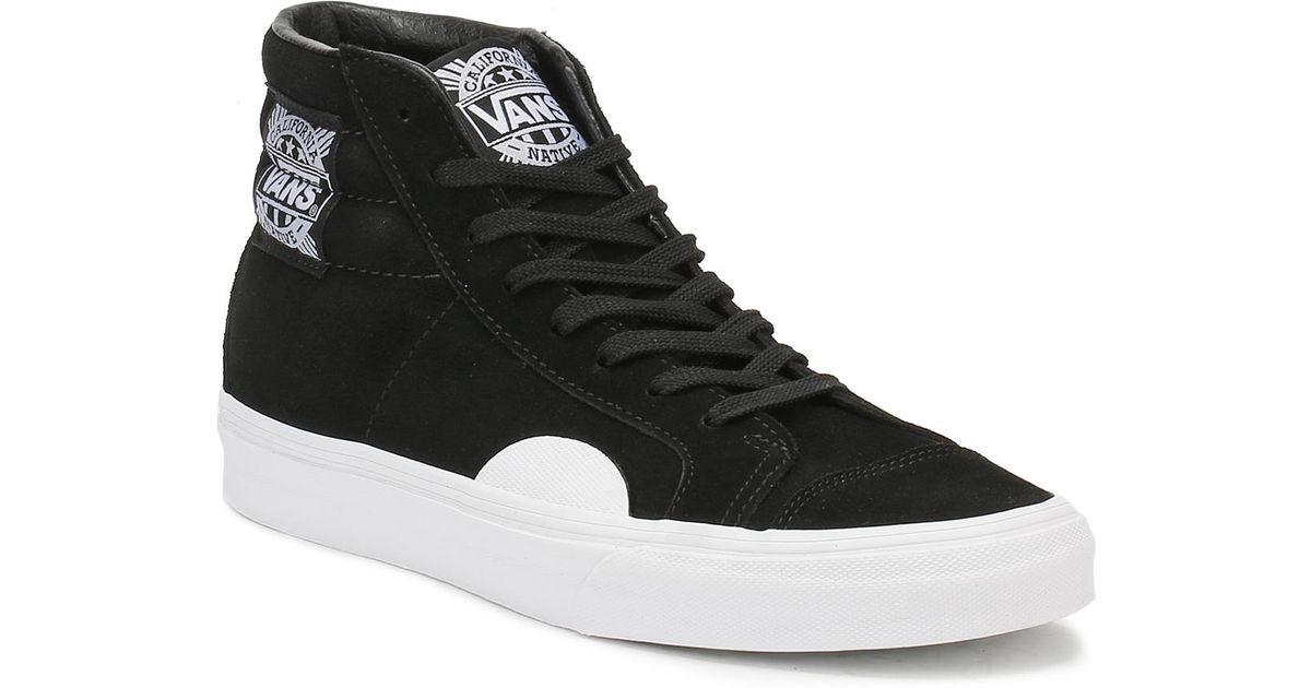 f22783d3c694eb Vans Mens Black   White Native Suede Style 238 Trainers in Black for Men -  Lyst