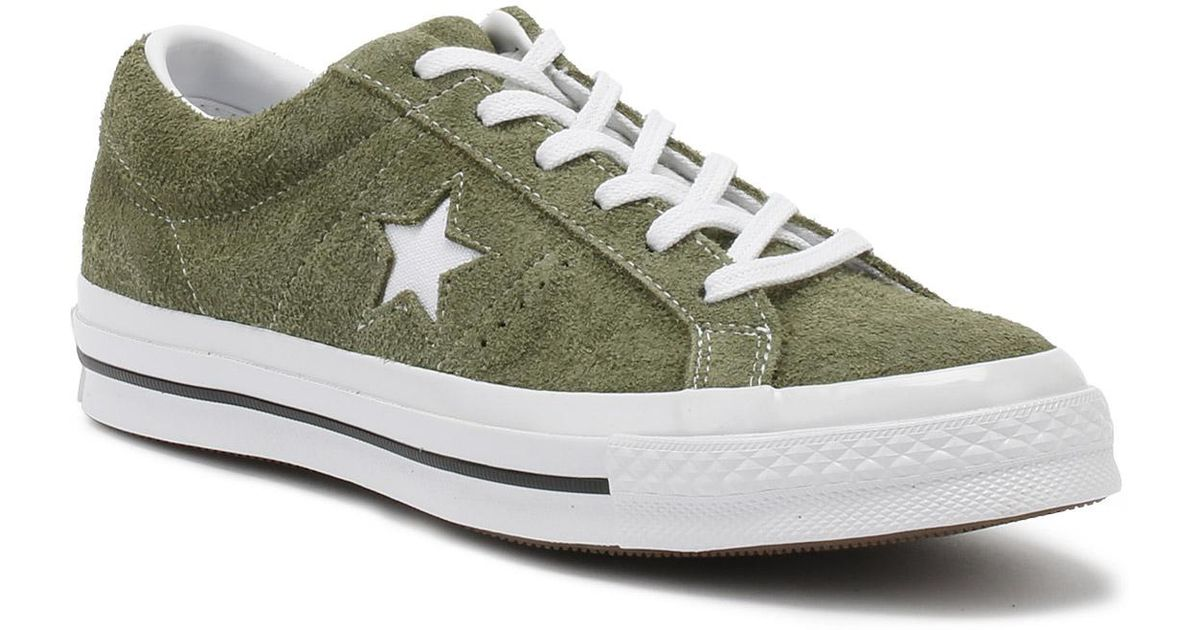 green converse trainers - 65% OFF