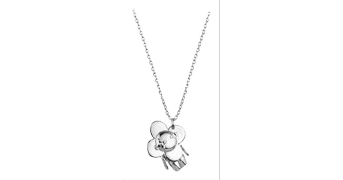 University of Nebraska Cornhuskers Mascot Name Sterling Silver Pendant Necklace 17x30mm 18 Inches