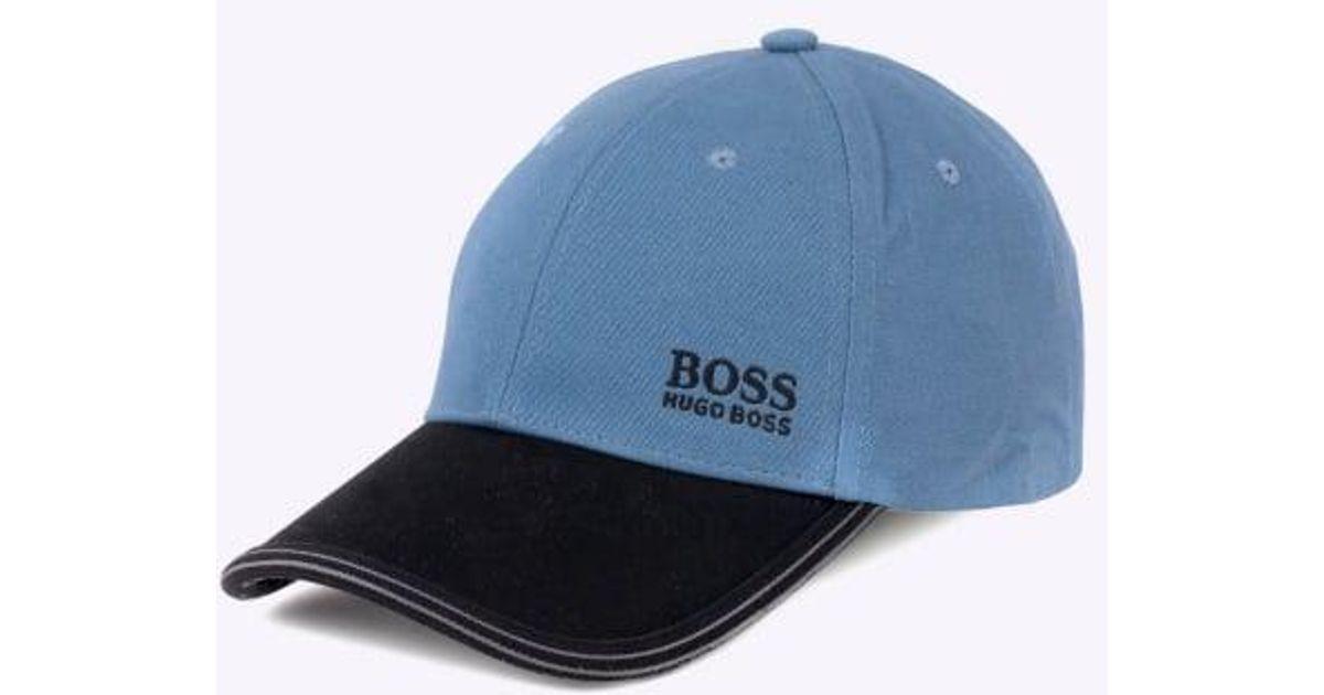e68d2c59223 Lyst - Boss Cap 12 in Blue for Men