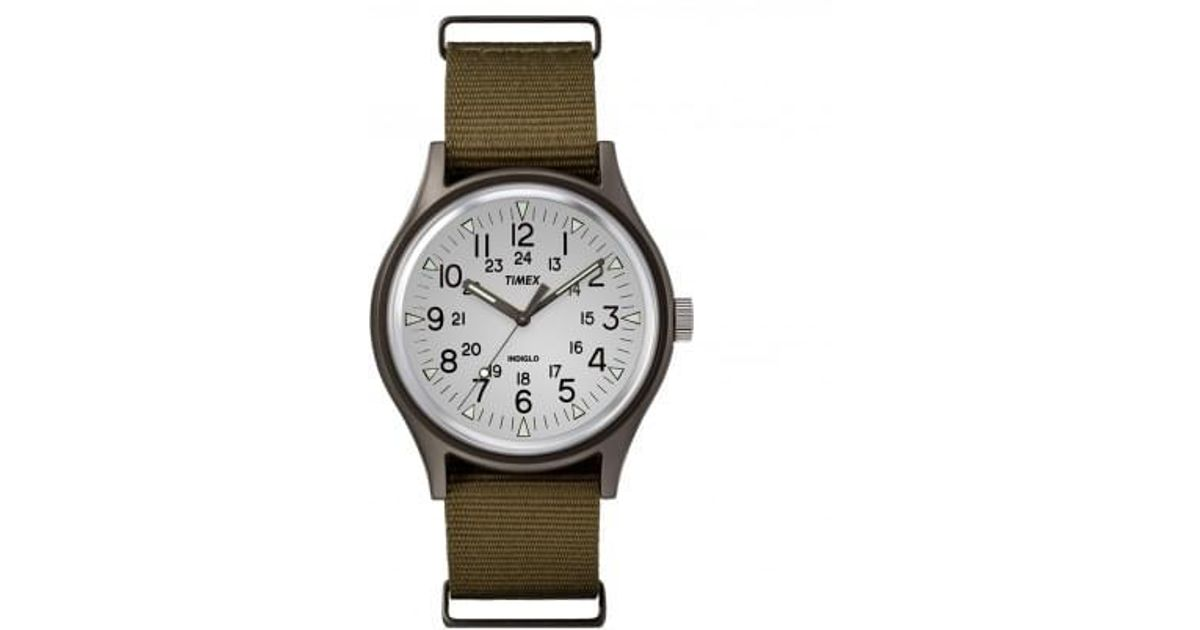 2dc6dd202 Lyst - Timex Mk1 Aluminum Watch in Green for Men