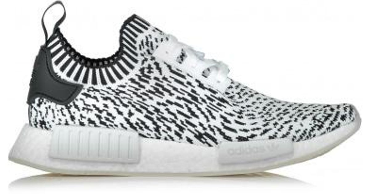 8b298ba4014b1 adidas Originals Nmd R1 Pk Zebra in White for Men - Lyst