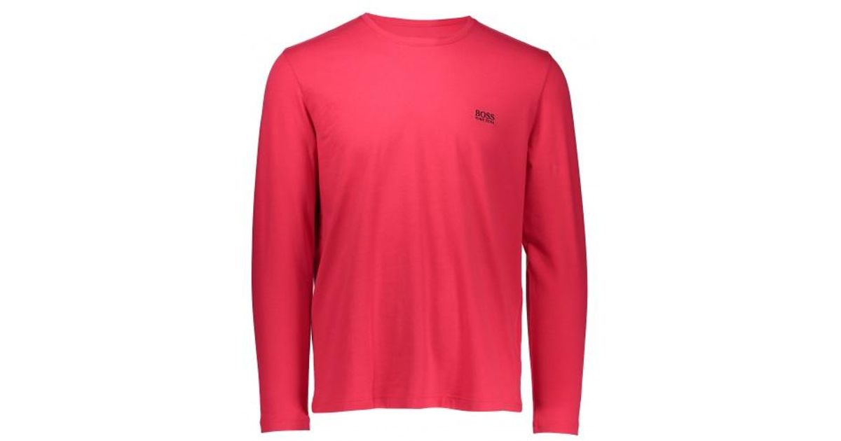 BOSS Herren T-Shirts Mix/&Match LS R