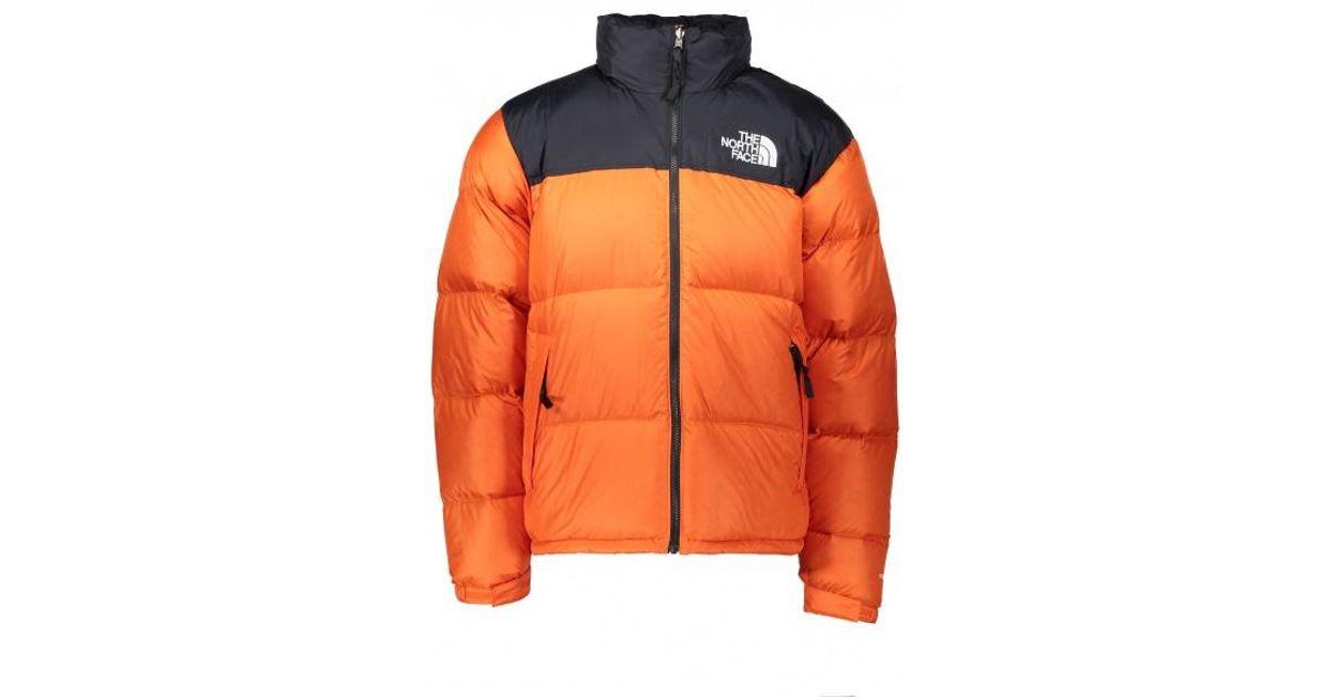 big sale designer fashion reliable quality The North Face Orange 1996 Rto Nuptse Jacket for men