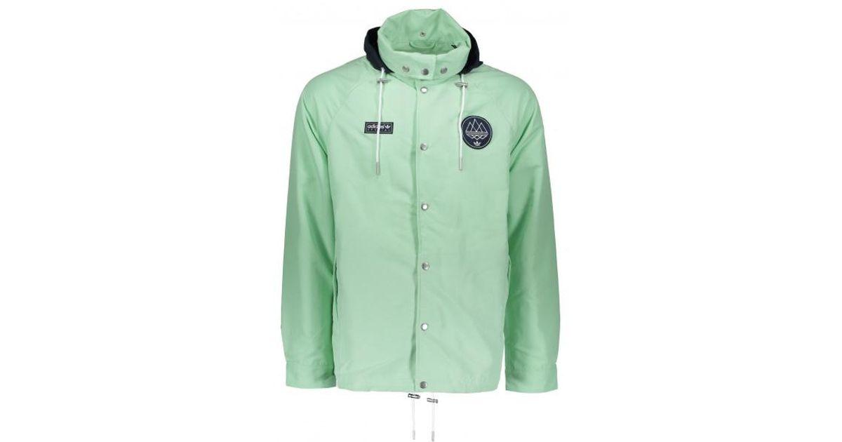 adidas Originals Livesey Anorak Spzl in Green for Men - Lyst