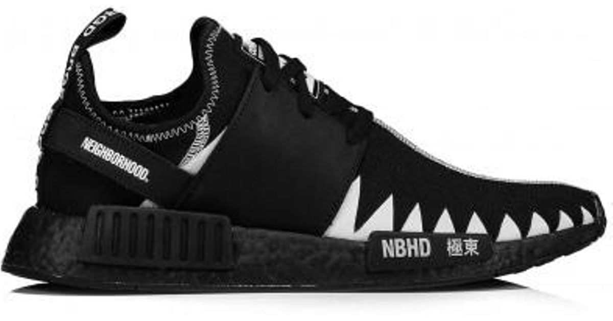 best website f33cd 4a7bf Adidas Originals Black X Neighborhood Nmd R1 Pk Nbhd for men