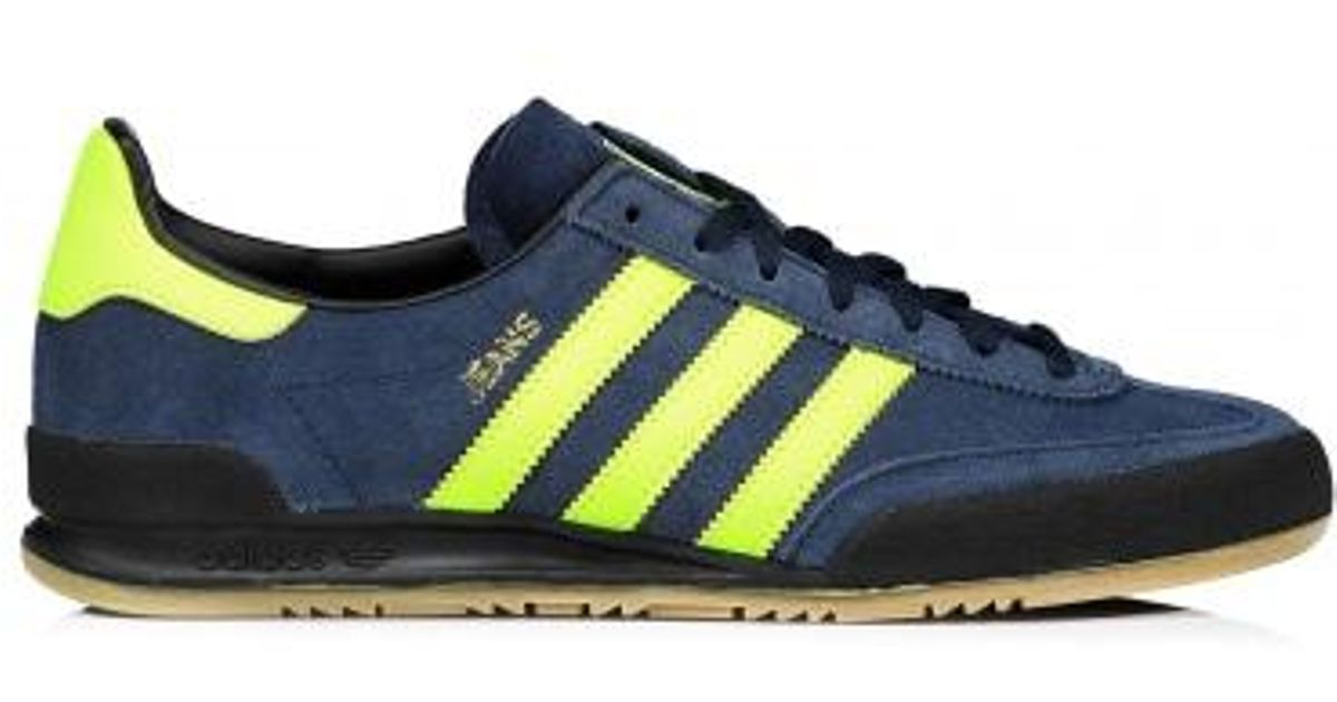 reputable site 53f80 04fe0 adidas Originals Jeans Trainers in Blue for Men - Lyst